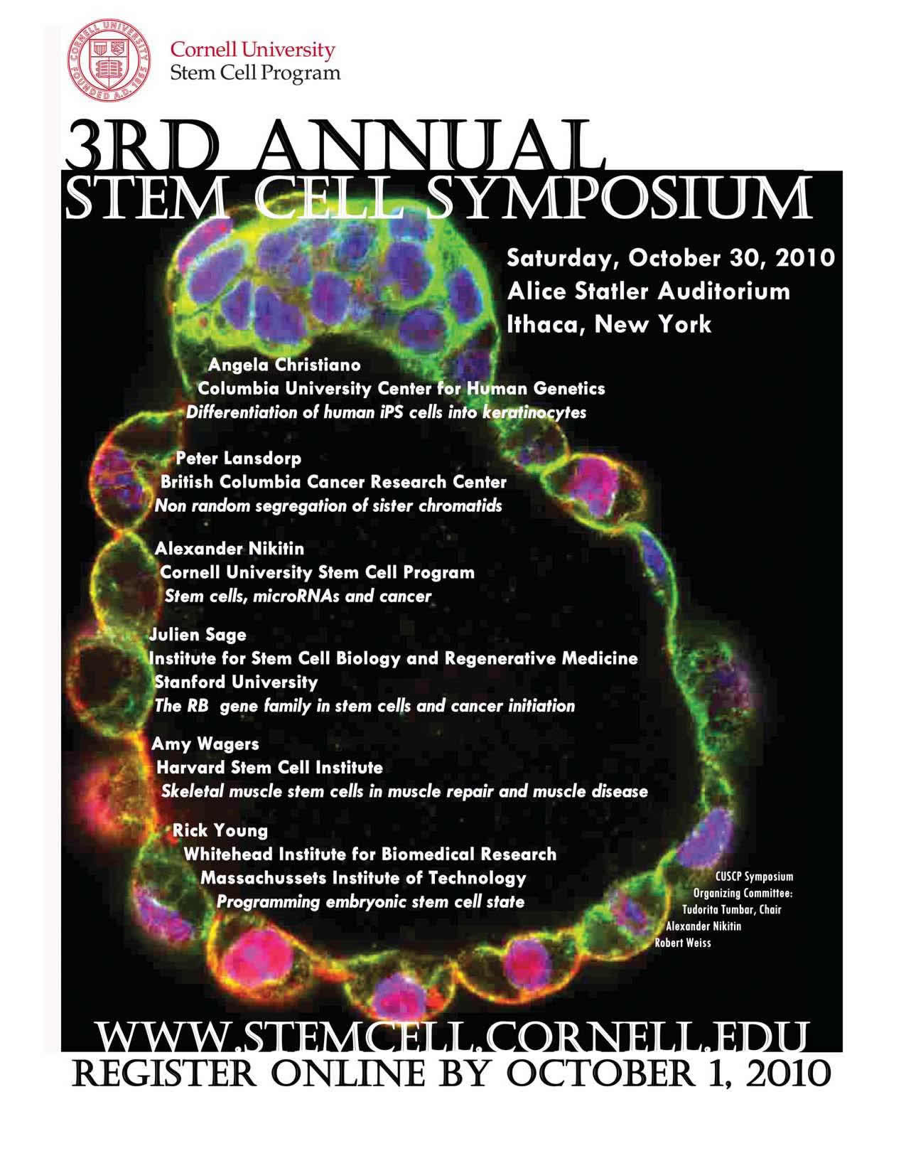 Poster design for symposium - 2010 Poster