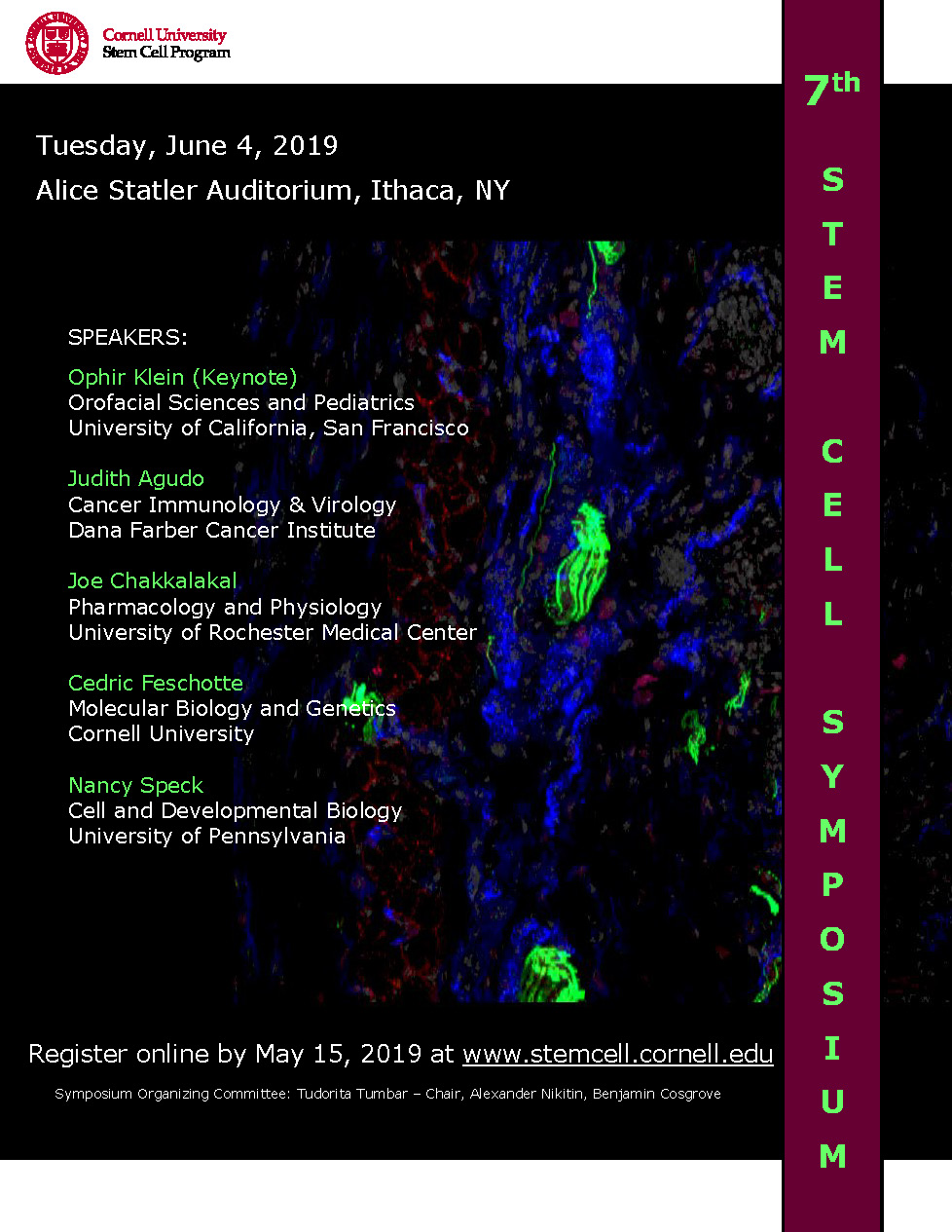 7th Stem Cell Symposium poster
